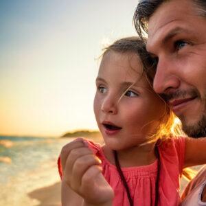 Als Vater lerne ich durch mein Kind viel mehr, als es von mir je könnte…